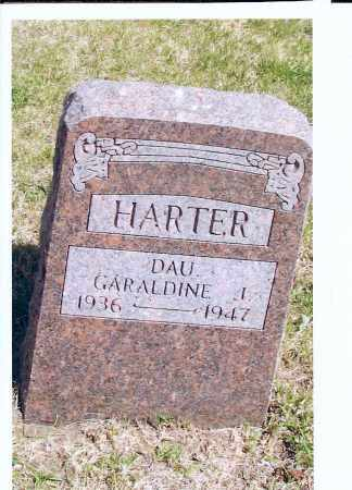 HARTER, GARALDINE I. - McIntosh County, North Dakota | GARALDINE I. HARTER - North Dakota Gravestone Photos