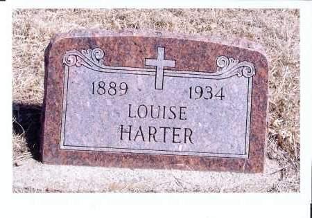HARTER, LOUISE - McIntosh County, North Dakota | LOUISE HARTER - North Dakota Gravestone Photos