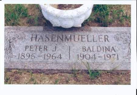 HASENMUELLER, BALDINA - McIntosh County, North Dakota | BALDINA HASENMUELLER - North Dakota Gravestone Photos