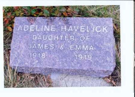 HAVELICK, ADELINE - McIntosh County, North Dakota | ADELINE HAVELICK - North Dakota Gravestone Photos