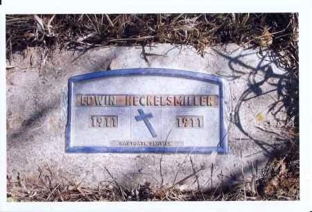 HECKELSMIILLER, EDWIN - McIntosh County, North Dakota   EDWIN HECKELSMIILLER - North Dakota Gravestone Photos