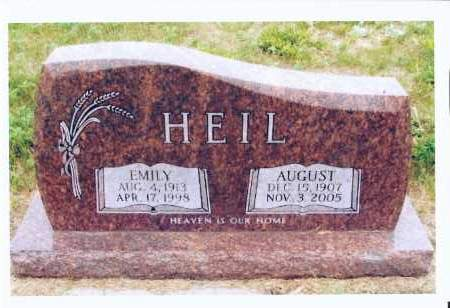 HEIL, AUGUST - McIntosh County, North Dakota | AUGUST HEIL - North Dakota Gravestone Photos