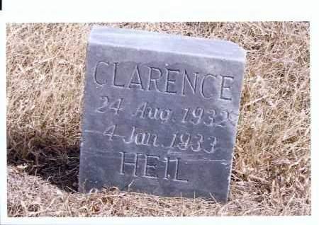 HEIL, CLARENCE - McIntosh County, North Dakota | CLARENCE HEIL - North Dakota Gravestone Photos