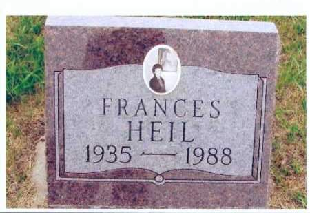 HEIL, FRANCES - McIntosh County, North Dakota | FRANCES HEIL - North Dakota Gravestone Photos