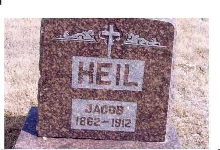 HEIL, JACOB - McIntosh County, North Dakota | JACOB HEIL - North Dakota Gravestone Photos