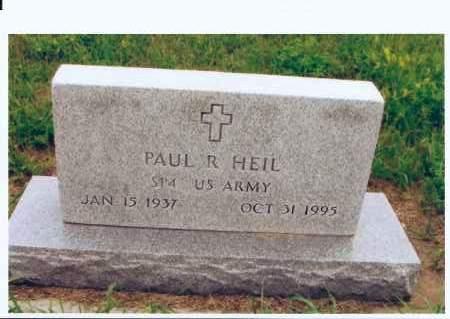 HEIL, PAUL R. - McIntosh County, North Dakota | PAUL R. HEIL - North Dakota Gravestone Photos