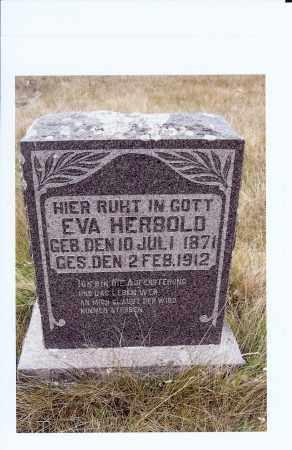 DOCKTER HERBOLT, EVA FREDRICKA - McIntosh County, North Dakota   EVA FREDRICKA DOCKTER HERBOLT - North Dakota Gravestone Photos