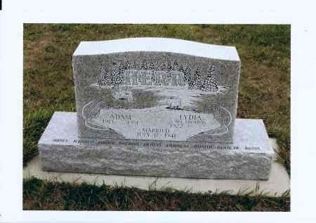HERR, ADAM - McIntosh County, North Dakota   ADAM HERR - North Dakota Gravestone Photos