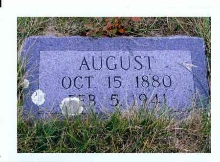 HERR, AUGUST - McIntosh County, North Dakota   AUGUST HERR - North Dakota Gravestone Photos