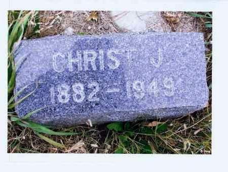 HERR, CHRIST J. - McIntosh County, North Dakota | CHRIST J. HERR - North Dakota Gravestone Photos