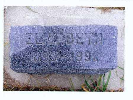 HERR, ELIZABETH - McIntosh County, North Dakota | ELIZABETH HERR - North Dakota Gravestone Photos