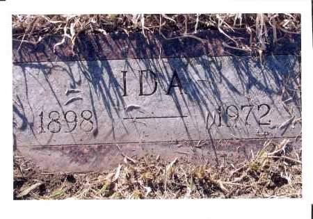 VOSSLER HERR, IDA - McIntosh County, North Dakota | IDA VOSSLER HERR - North Dakota Gravestone Photos