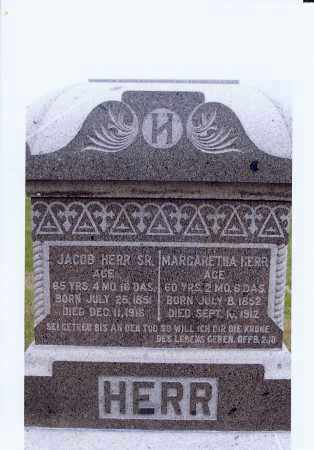 HERR, JACOB - McIntosh County, North Dakota | JACOB HERR - North Dakota Gravestone Photos