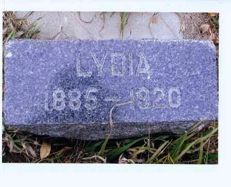 HERR, LYDIA - McIntosh County, North Dakota | LYDIA HERR - North Dakota Gravestone Photos