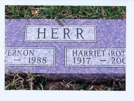 HERR, HARRIET - McIntosh County, North Dakota | HARRIET HERR - North Dakota Gravestone Photos
