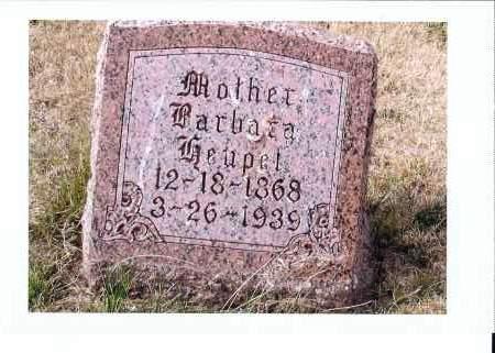 HEUPEL, BARBARA - McIntosh County, North Dakota | BARBARA HEUPEL - North Dakota Gravestone Photos