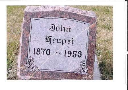 HEUPEL, JOHN - McIntosh County, North Dakota | JOHN HEUPEL - North Dakota Gravestone Photos