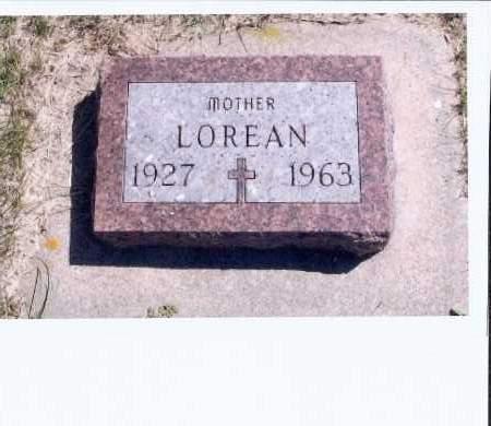 HEUPEL, LOREAN - McIntosh County, North Dakota   LOREAN HEUPEL - North Dakota Gravestone Photos