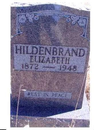 KOENIG HILDENBRAND, ELIZABETH - McIntosh County, North Dakota | ELIZABETH KOENIG HILDENBRAND - North Dakota Gravestone Photos