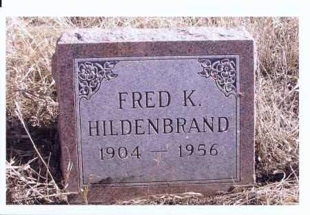 HILDENBRAND, FRED K. - McIntosh County, North Dakota   FRED K. HILDENBRAND - North Dakota Gravestone Photos