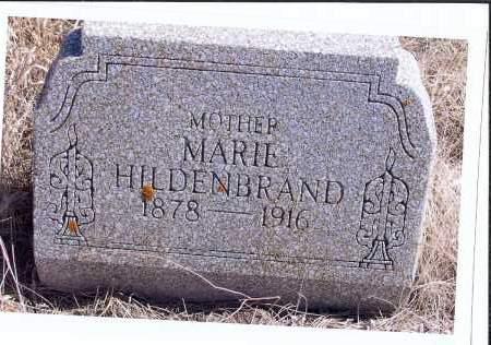 HILDENBRAND, MARIE - McIntosh County, North Dakota   MARIE HILDENBRAND - North Dakota Gravestone Photos