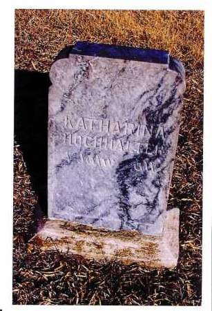 HOCHHALTER, KATHARINA - McIntosh County, North Dakota | KATHARINA HOCHHALTER - North Dakota Gravestone Photos