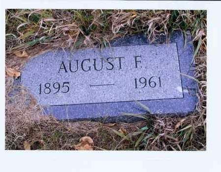 HOFF, AUGUST F. - McIntosh County, North Dakota | AUGUST F. HOFF - North Dakota Gravestone Photos