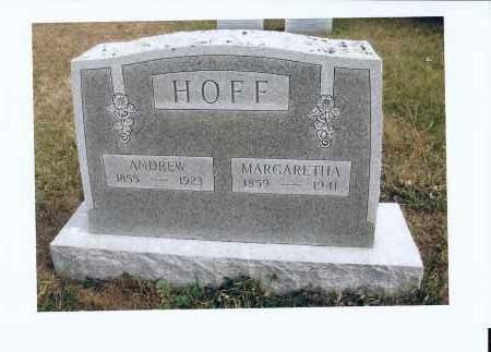 HOFF, MARGARETHA - McIntosh County, North Dakota | MARGARETHA HOFF - North Dakota Gravestone Photos
