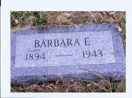 HOFF, BARBARA E. - McIntosh County, North Dakota | BARBARA E. HOFF - North Dakota Gravestone Photos