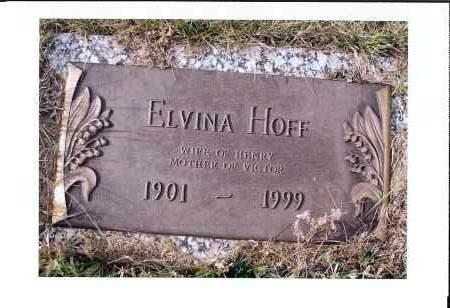 GIEDT HOFF, ELVINA - McIntosh County, North Dakota | ELVINA GIEDT HOFF - North Dakota Gravestone Photos