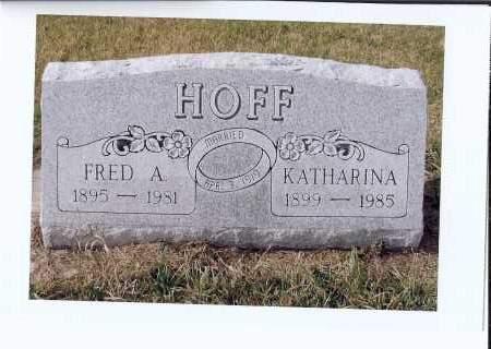 HERR HOFF, KATHARINA - McIntosh County, North Dakota | KATHARINA HERR HOFF - North Dakota Gravestone Photos