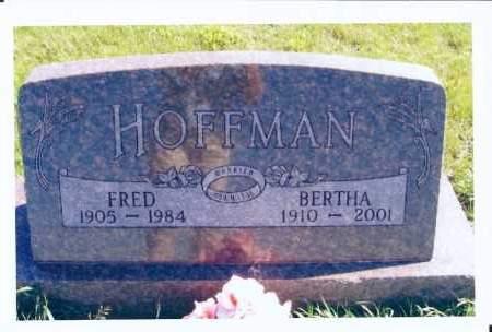 HOFFMAN, BERTHA - McIntosh County, North Dakota | BERTHA HOFFMAN - North Dakota Gravestone Photos
