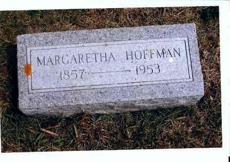 HOFFMAN, MARGARETHA - McIntosh County, North Dakota | MARGARETHA HOFFMAN - North Dakota Gravestone Photos