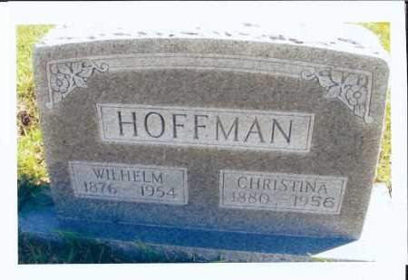WOLFF HOFFMAN, CHRISTINA - McIntosh County, North Dakota | CHRISTINA WOLFF HOFFMAN - North Dakota Gravestone Photos