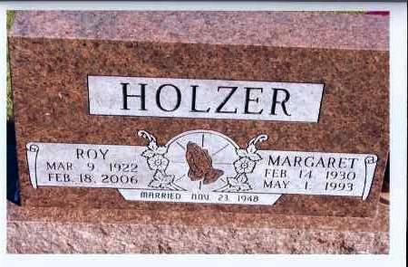 HOLZER, MARGARET - McIntosh County, North Dakota   MARGARET HOLZER - North Dakota Gravestone Photos
