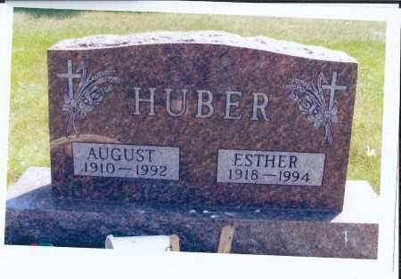 WOEHL HUBER, ESTHER - McIntosh County, North Dakota | ESTHER WOEHL HUBER - North Dakota Gravestone Photos