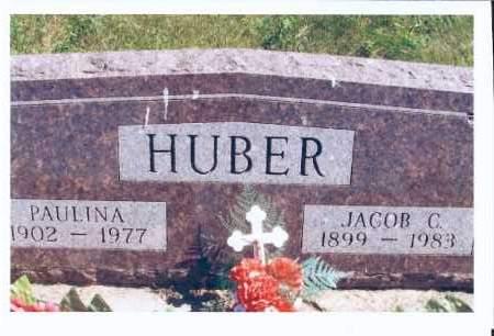 HUBER, PAULINA - McIntosh County, North Dakota | PAULINA HUBER - North Dakota Gravestone Photos