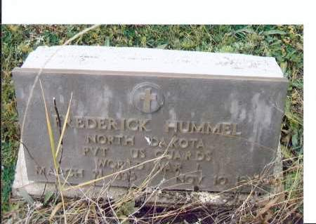 HUMMEL, FREDERICK - McIntosh County, North Dakota   FREDERICK HUMMEL - North Dakota Gravestone Photos
