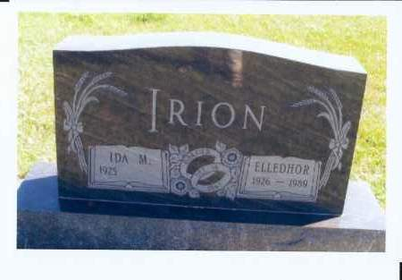 IRION, ELLEDHOR - McIntosh County, North Dakota | ELLEDHOR IRION - North Dakota Gravestone Photos