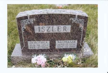 ISZLER, BALTHASAR - McIntosh County, North Dakota | BALTHASAR ISZLER - North Dakota Gravestone Photos