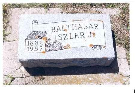 ISZLER, BALTHASAR, JR. - McIntosh County, North Dakota   BALTHASAR, JR. ISZLER - North Dakota Gravestone Photos