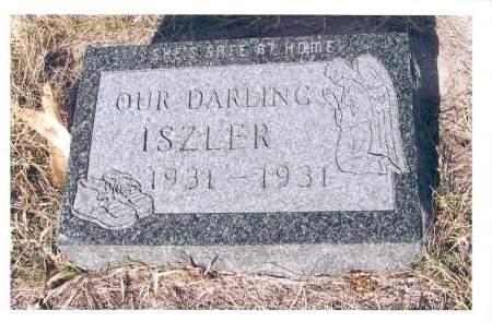 ISZLER, CHILD - McIntosh County, North Dakota | CHILD ISZLER - North Dakota Gravestone Photos