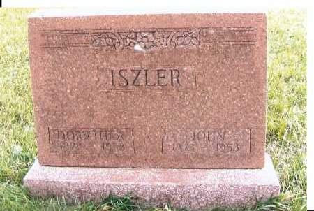 ISZLER, JOHN - McIntosh County, North Dakota | JOHN ISZLER - North Dakota Gravestone Photos