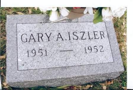 ISZLER, GARY A. - McIntosh County, North Dakota | GARY A. ISZLER - North Dakota Gravestone Photos