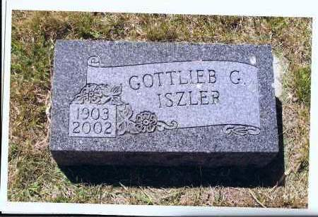 ISZLER, GOTTLIEB G. - McIntosh County, North Dakota   GOTTLIEB G. ISZLER - North Dakota Gravestone Photos