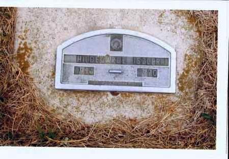 ISZLER, HILDEGARDE - McIntosh County, North Dakota   HILDEGARDE ISZLER - North Dakota Gravestone Photos