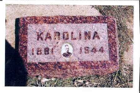 ISZLER, KAROLINA - McIntosh County, North Dakota   KAROLINA ISZLER - North Dakota Gravestone Photos