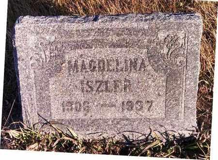 SCHILLING ISZLER, MAGDELINA - McIntosh County, North Dakota   MAGDELINA SCHILLING ISZLER - North Dakota Gravestone Photos