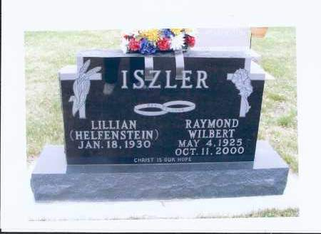 ISZLER, RAYMOND WILBERT - McIntosh County, North Dakota | RAYMOND WILBERT ISZLER - North Dakota Gravestone Photos