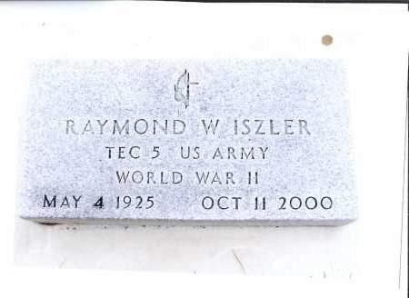 ISZLER, RAYMOND W. - McIntosh County, North Dakota | RAYMOND W. ISZLER - North Dakota Gravestone Photos